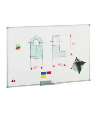 Pizarra blanca lacada magnética 60x90- FAIBO - 840-10
