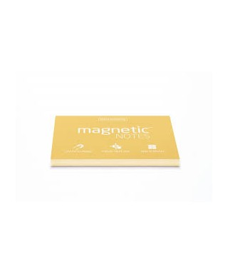 100 Magnetic Note M 100x70mm Sunshine