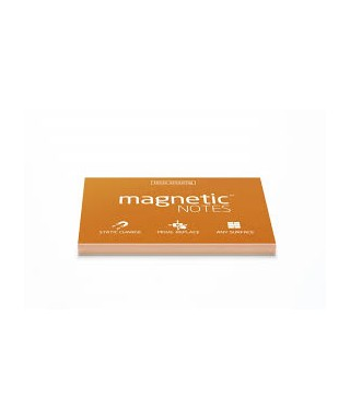 100 Magnetic Note M 100x70mm Naranja