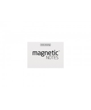 100 Magnetic Note S 70X50mm Transparente