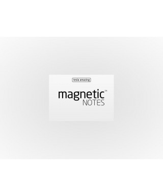 100 Magnetic Note S 70X50mm Blanco