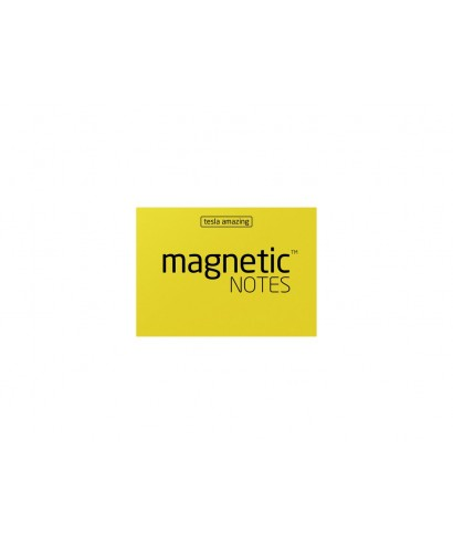 100 Magnetic Note S 70X50mm Amarillo
