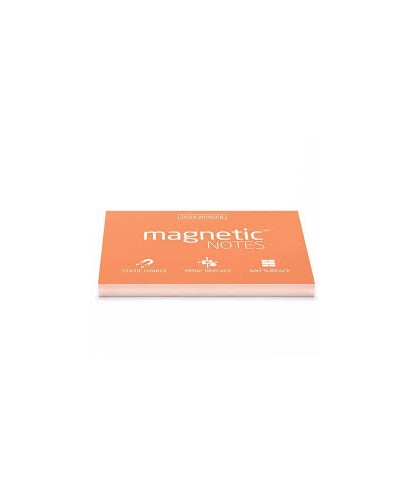 100 Magnetic Note L 200x100mm Orange