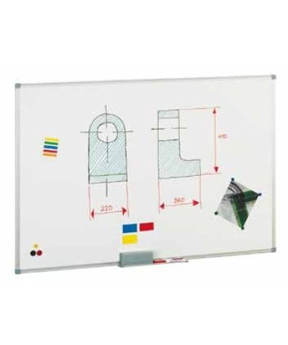 Pizarra blanca lacada magnética 120x180- FAIBO - 840-12