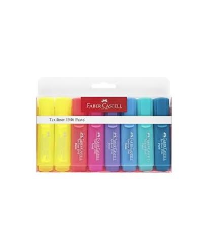 Blister con 8 marcadores pastel