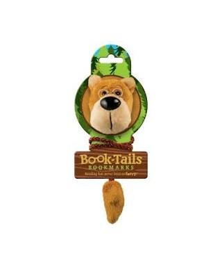 Marcapáginas peluche oso, BOOK-TAILS