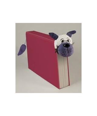 Marcapáginas peluche lobo, BOOK-TAILS