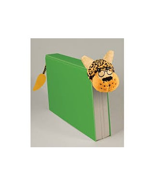 Marcapáginas peluche leopardo, BOOK-TAIL