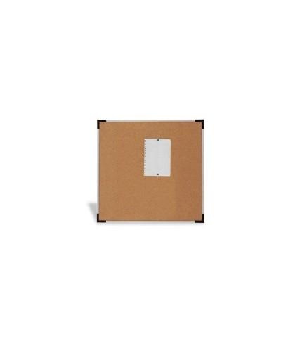 Tablero de corcho marco aluminio 100x150 - 601-4
