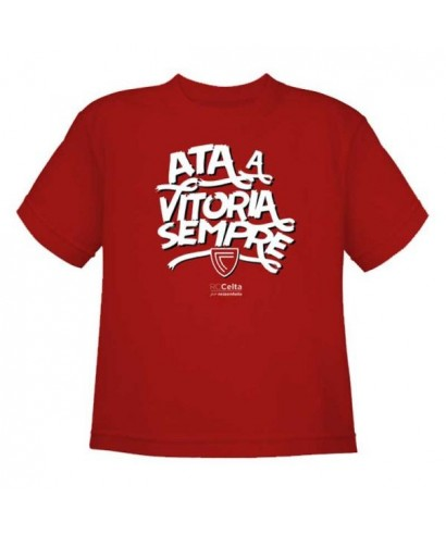 Camiseta Vitoria niño Talla 2 RZ