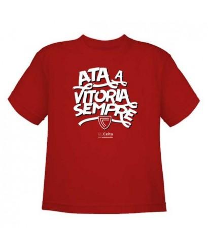 Camiseta Vitoria niño Talla 3/4 RZ