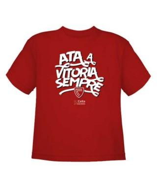 Camiseta Vitoria niño Talla 5/6 RZ