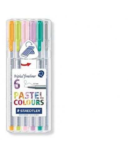 Estuche 6 My Triplus colores pastel