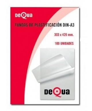 Funda plastificar A-4 80icras- Dequa