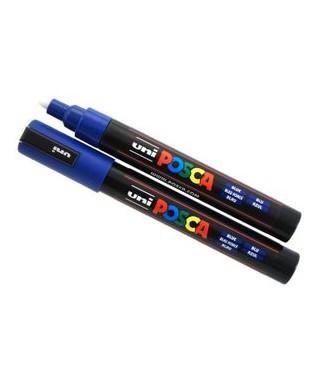 Rotulador Uniposca PC-5M azul