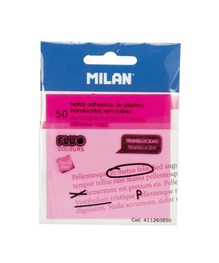 Notas trans, , 50und. rosas,MILAN