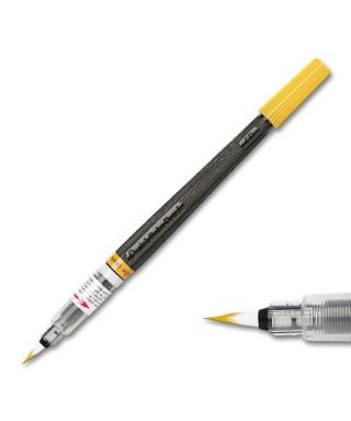 Pincel recargable color brush, amarillo