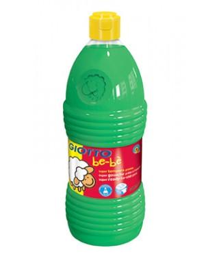 Botella 1l Super tempera líquida verde