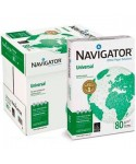 1 caja, 5 paquetes. Papel Navigator DIN A4, 80 g. 500 hojas