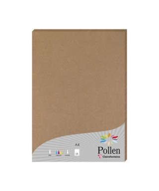 Papel kraft A4, 200gms. CLAIREFONTAIN