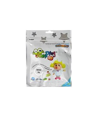 Jumping Clay mediano 50g blanco