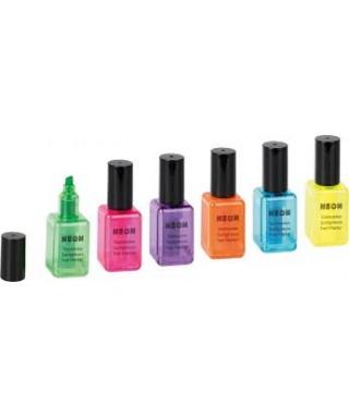 Marcador fluorescente esmalte de uñas