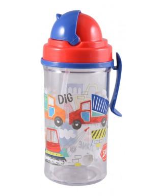 Botella agua Construcción