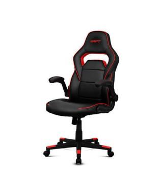 Silla gaming Drift DR75 negro/rojo