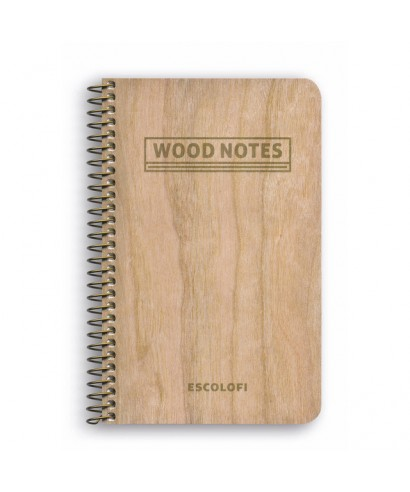 Wood notes 75x105 140pag liso