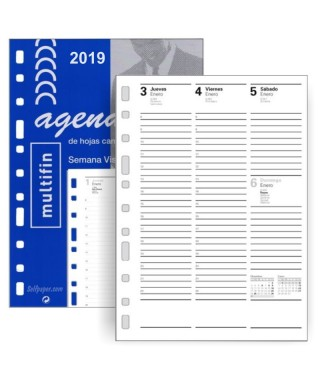 Recambio agenda S/V 2019 FINOCAM