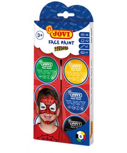 Jovi face paint set
