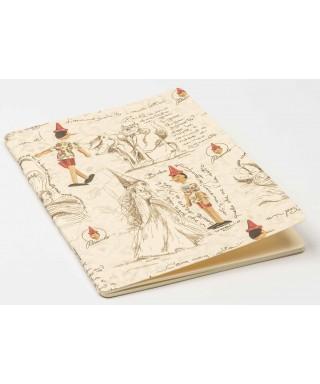 Cuaderno rayado Pinocchio