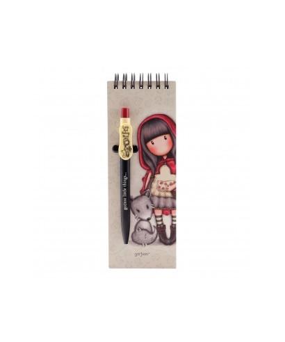 Libreta con bolígrafo Little red riding