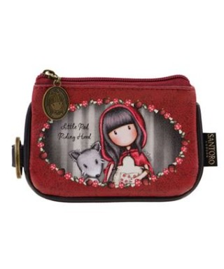 Monedero con asa Littke red riding hood