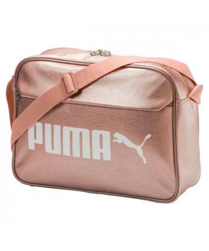 Bandolera messenger Puma rosa