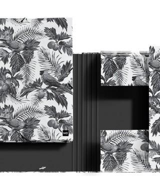 Carpeta con solapas Black&White