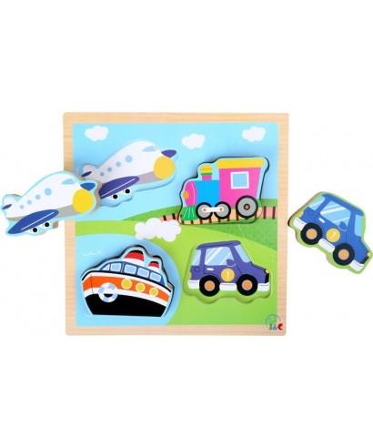 Puzzle transporte