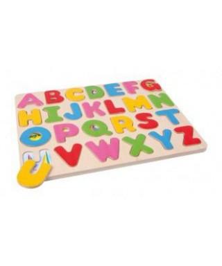 Puzzle tren de letras