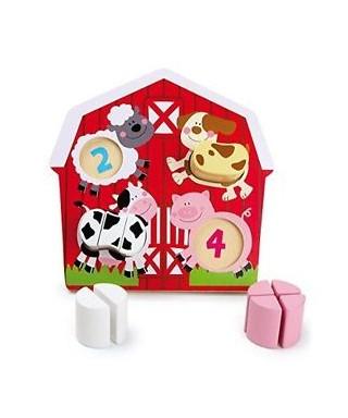Puzzle animales de granja