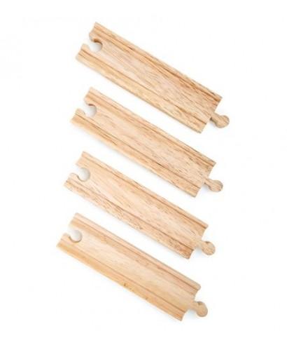 Via recta mediana, 4 piezas TRAINible