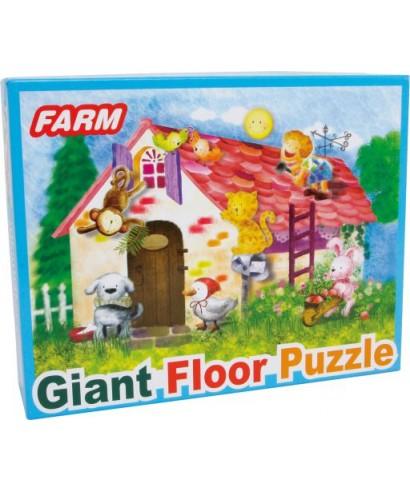 Puzzle gigante granja