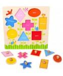 Set de puzzle formas