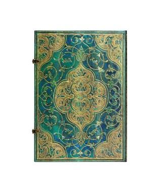 Cuaderno Crónicas Turquesas Grande