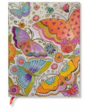 Cuaderno flexi Flutterbyes Ultra. PAPERBANKS