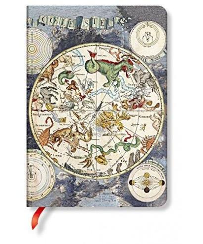 Cuaderno Planisferio celeste Midi. PAPERBLANKS