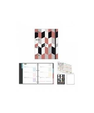 Agenda iki c/anillas S/V 153x210 Geo Cub