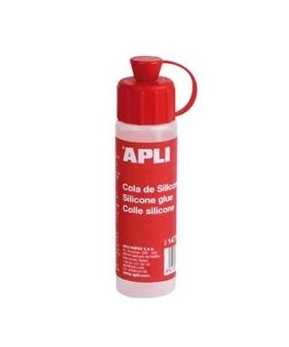 Cola de silicona 25ml APLI