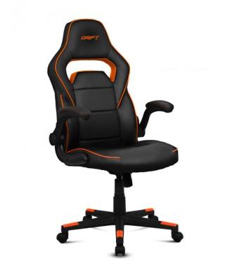 Silla gaming Drift DR75 negro/naranja