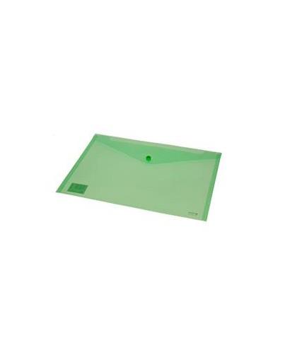 Sobre polipropileno verde tamaño folio