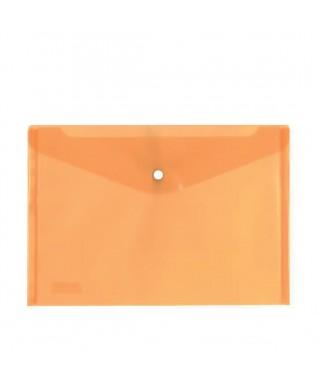 Sobre polipropileno naranja tamaño folio